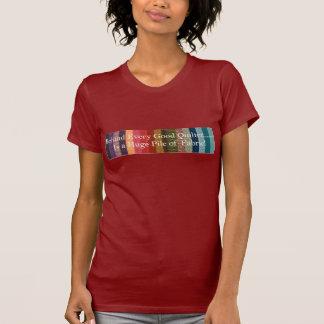あらゆるよいquilterの後ろ tシャツ