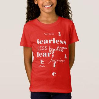 あらゆる勇敢な女の子のため Tシャツ