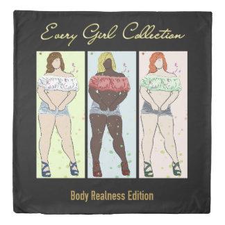 あらゆる女の子のコレクション: 体のRealness 掛け布団カバー