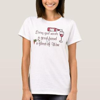 あらゆる女の子は必要とします Tシャツ