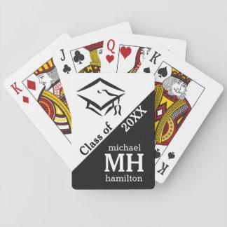(あらゆる年)カードを遊ぶカスタムなモノグラムのクラス トランプ