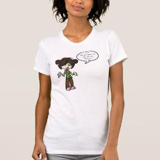 あらゆる悪い衝動-女性の細い肩ひも Tシャツ