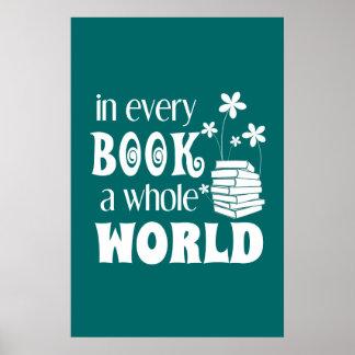 あらゆる本全世界ポスター ポスター
