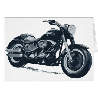 あらゆる男の子は脂肪質の青いアメリカのオートバイを愛します カード