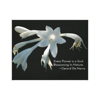 あらゆる精神は花です キャンバスプリント