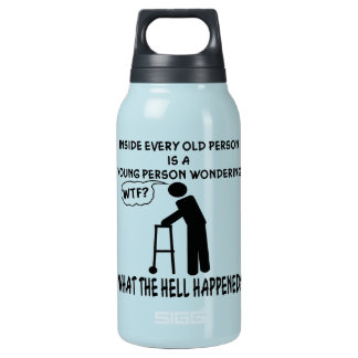 あらゆる高齢者の中で若者の発言はあります 断熱ウォーターボトル
