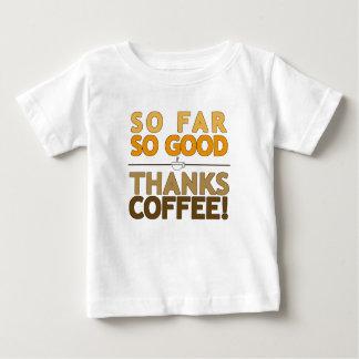 ありがとうのコーヒー ベビーTシャツ