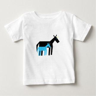 ありがとうのパパのユニコーン ベビーTシャツ