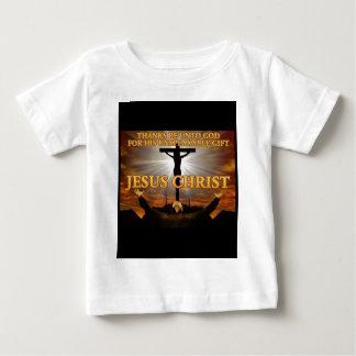 ありがとうは神にあります ベビーTシャツ