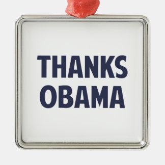 ありがとうバラック・オバマ メタルオーナメント