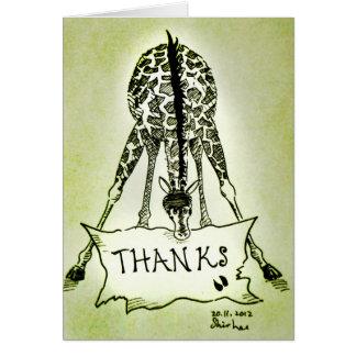 ありがとう---- キリン カード