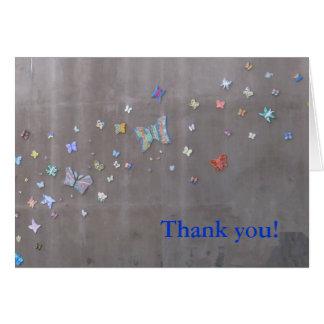 ありがとう!  サンディエゴの蝶 カード
