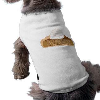 ありがとう! パンプキンパイ犬のワイシャツ ペット服