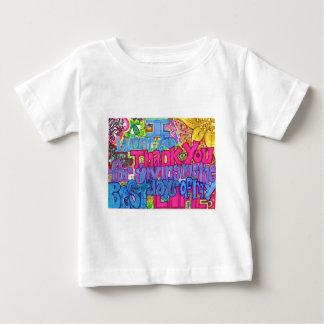 ありがとう ベビーTシャツ