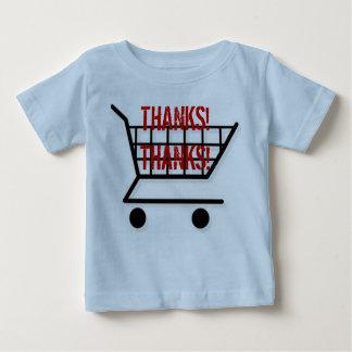 ありがとう! ベビーTシャツ