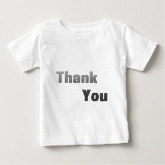 ありがとう(白い) ベビーTシャツ