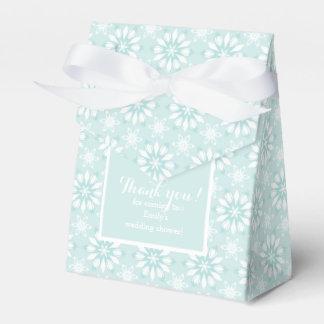 ありがとう! 花結婚式と箱を支持して下さい フェイバーボックス
