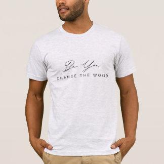 ありましたり、世界の人のTシャツを変えます Tシャツ