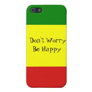 あります幸せなiPhone 5/5Sの場合が心配しないで下さい iPhone 5 Cover