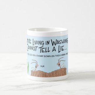 あることができないシロアリ コーヒーマグカップ