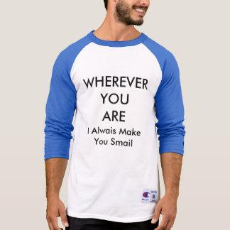 あるところはどこでも Tシャツ