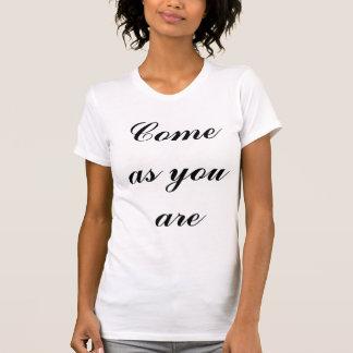 あるように来られる Tシャツ