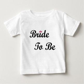 あるティアラの花嫁 ベビーTシャツ