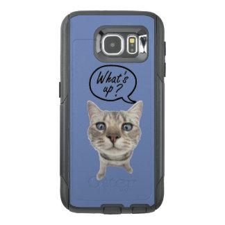ある何が携帯電話の箱の上に オッターボックスSamsung GALAXY S6ケース