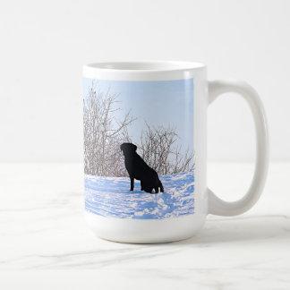 -ある何が私達の内に黒いラブラドールの引用文か コーヒーマグカップ