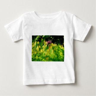 ある勇気あなた自身を持って下さい! 分野で開花して下さい ベビーTシャツ