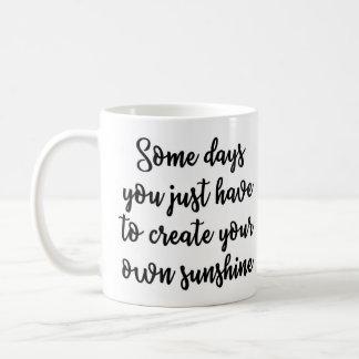 ある日のマグ コーヒーマグカップ
