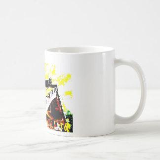 ある日の錦帯橋の銀杏☆ コーヒーマグカップ