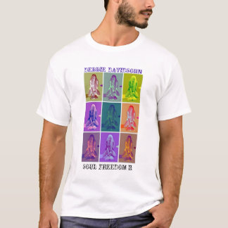 """ある調子を与えられたTシャツ""""精神自由II """"の二倍になります Tシャツ"""