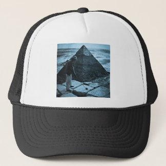 ある調子を与えられるピラミッドのヴィンテージの青のゴルフ キャップ