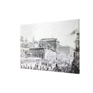 あるHerculaneumで見つけられる古さ キャンバスプリント
