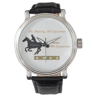 あ乗馬の優秀なロゴの腕時計 腕時計