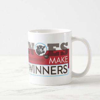 いいえ勝者にマグをして下さい コーヒーマグカップ