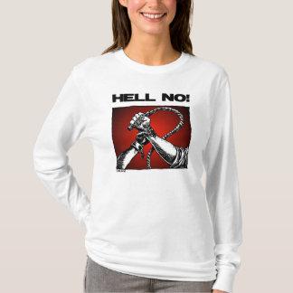 いいえ黒い意識のフード付きスウェットシャツのスエットシャツ Tシャツ