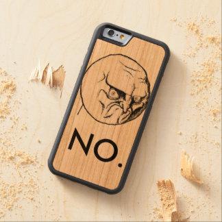 """""""いいえ""""ミーム CarvedチェリーiPhone 6バンパーケース"""