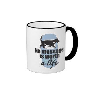 いいえ メッセージ 価値 生命 マグカップ