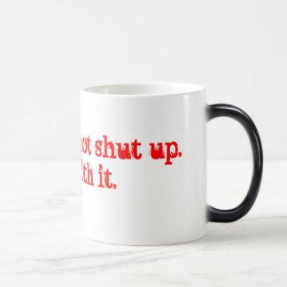 いいえ、私達はそれのup.dealを締めません マジックマグカップ