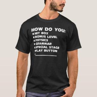 いかにか。 Tシャツ