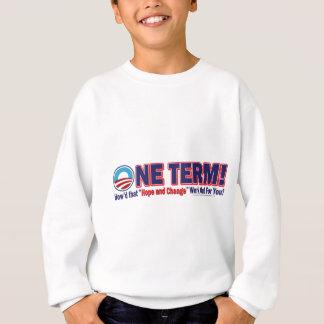いかにしたか1つの言葉はその希望および変更解決します スウェットシャツ