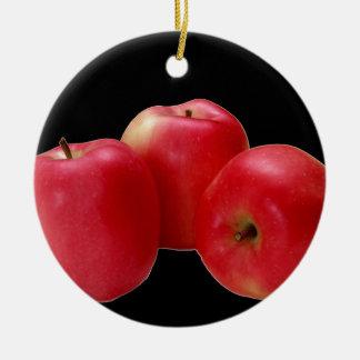 """""""いかにしなさいか好みますそれらのりんご""""を セラミックオーナメント"""