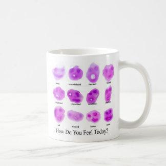 いかに今日感じますか。 コーヒーマグカップ