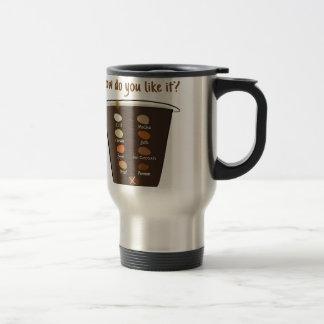 いかに好みますあなたのコーヒーをか。 トラベルマグ