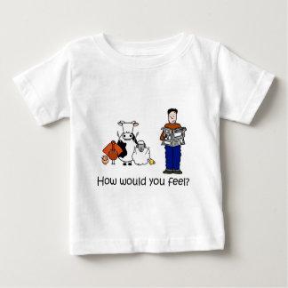 いかに感じるか ベビーTシャツ
