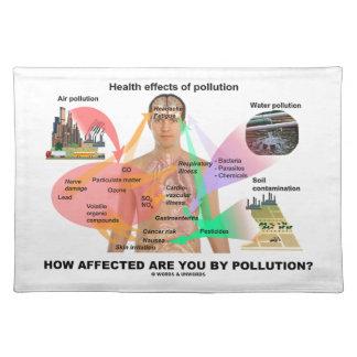 いかに汚染によって影響されますか。 (生理学) ランチョンマット