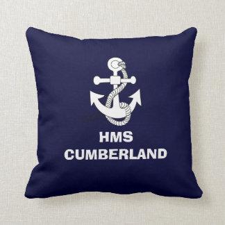 いかりのデザイン、HMSカンバーランド クッション