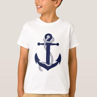 いかりのデザイン Tシャツ